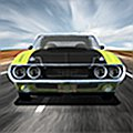 V8 Muscle Cars Racing Games with big classic cars