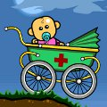 Zombaby Bouncer: catch the baby in the pram